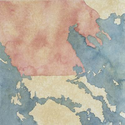 Map of Greek Regions under Macedonian Rule, 3rd Century BC--Giclee Print