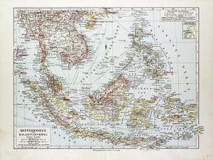 Map of Indonesia 1899