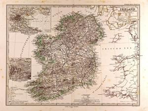 Map of Ireland, 1872