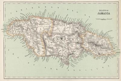 Map of Jamaica