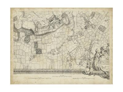 Map of London Grid XIV--Art Print