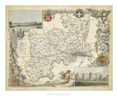 Map of Middlesex--Giclee Print
