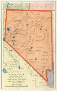 Beautiful Maps of Nevada artwork for sale, Posters and Prints | Art.com