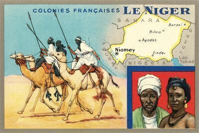 Map of Niger--Art Print