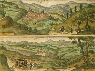 Map of Nocera and Castelnuovo from Civitates Orbis Terrarum--Giclee Print