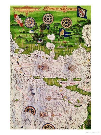 """Map of Peru, from """"Cosmographie Universelle"""", 1555-Guillaume Le Testu-Giclee Print"""
