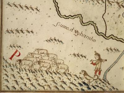 Map of Salzola, Italy, from the Atlas Atlante Delle Locazioni, 1687-1697-Antonio and Nunzio Michele-Giclee Print
