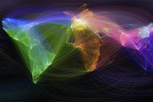 Map of Scientific Collaboration