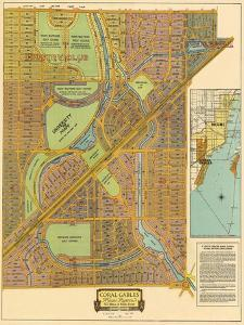 Map of South Coral Gables, 1926