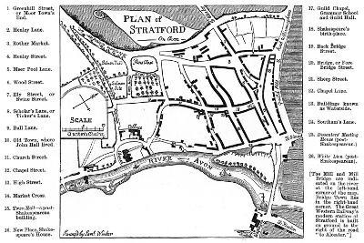 Map of Stratford-Upon-Avon, Warwickshire, 1759-Edward Hull-Giclee Print