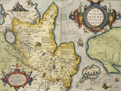 Map of Tartary, Northern-Central Asia, from Theatrum Orbis Terrarum--Giclee Print