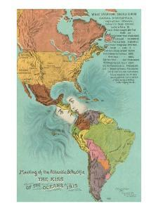 Map of the Americans, Opening of the Panama Canal