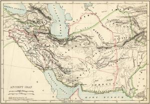 Map of the Ancient Persian Empire