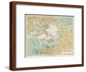 Maps Of The Arctic Framed Posters Art Prints Paintings Posters Wall Art Art Com