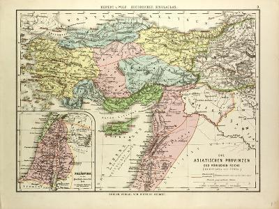 Map of the Asian Provinces of the Roman Empire (Small Asia and Syria)--Giclee Print