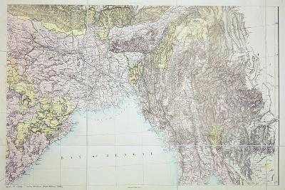 Map of the Bay of Bengal, 1898--Giclee Print