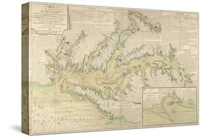 Map of the Chesapeake Bay, 1778