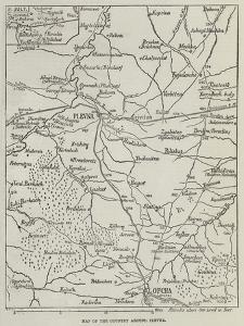 Map of the Country around Plevna