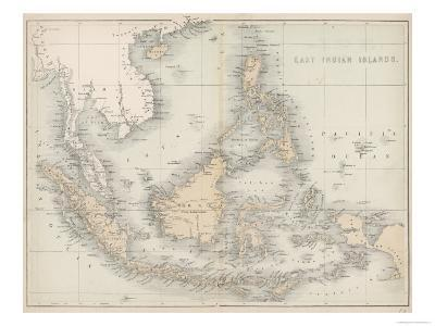 Map of the East India Islands--Giclee Print