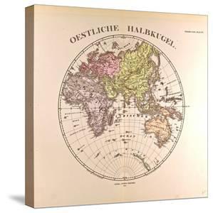 Map of the Eastern Hemisphere, 1872