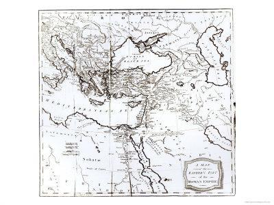 Map of the Eastern Part of the Roman Empire, c.1808--Giclee Print
