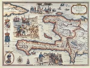 Map of the Island of Haiti, 1789