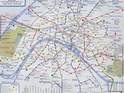 picture about Printable Maps of Paris known as Eye-catching Maps of Paris art for sale, Posters and Prints