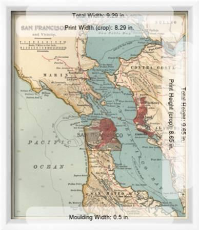 Map Of The San Francisco Bay Area C 1900 Maps Giclee Print Encyclopaedia Britannica Art Com 12 fresh sushi restaurants in the east bay. map of the san francisco bay area c 1900 maps by encyclopaedia britannica