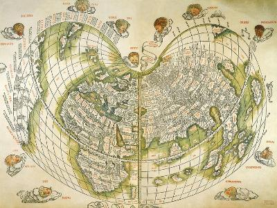 Map of the World 1511--Giclee Print