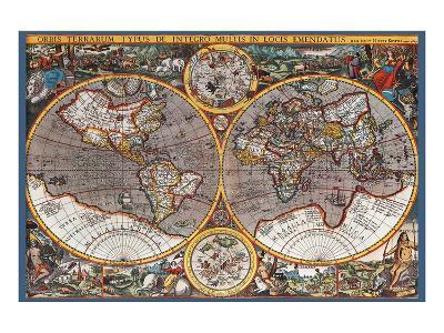Map of the World II--Art Print