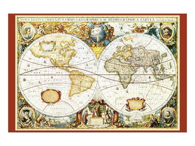 Map of the World III--Art Print