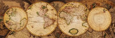 Map of the World: Nova Totius Terrarum Orbis--Art Print