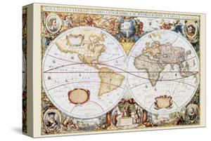 World maps decorative art artwork for sale posters and prints at map of the world gumiabroncs Image collections