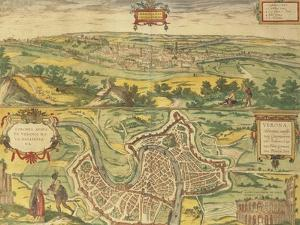 Map of Verona from Civitates Orbis Terrarum