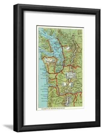 Map of Western Washington
