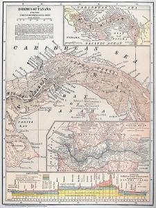 Map: Panama, 1907
