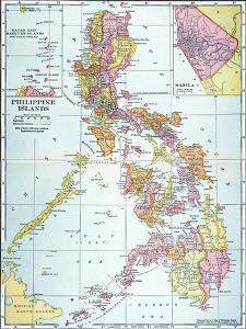 Map: Philippines, 1905