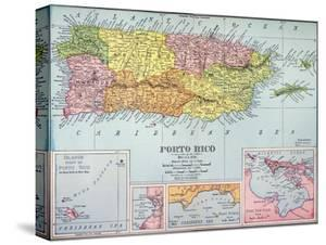 Map: Puerto Rico, 1900