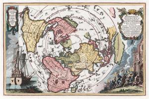Map Showing Track of Magellan's Voyage around the World