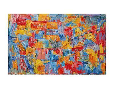 Map-Jasper Johns-Art Print