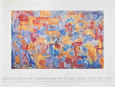 Map-Jasper Johns-Collectable Print