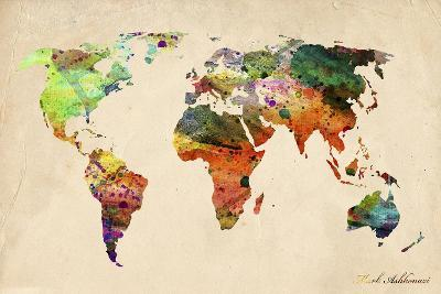 Map-Mark Ashkenazi-Giclee Print