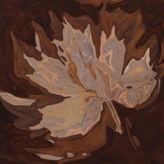 Maple Leaf 2-Rabi Khan-Art Print