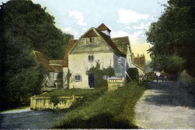 Mapledurham Mill, Oxfordshire, 20th Century--Giclee Print