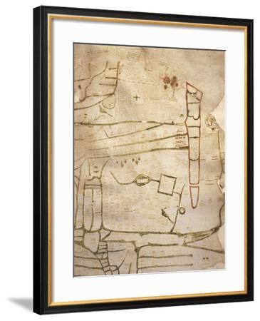 Mappa Mundi--Framed Giclee Print