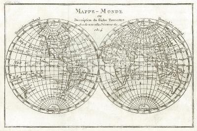 Mappemonde-Stephanie Monahan-Giclee Print