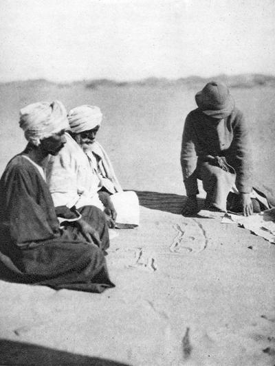 Mapping in the Sand, Halfa to Shellal, Egypt, 1926-Thomas A Glover-Giclee Print