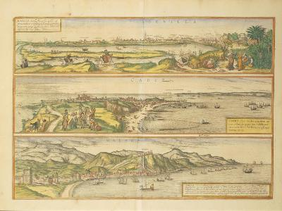 Maps of Seville--Giclee Print