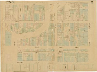 Maps of the City of Philadelphia, Volume 1, Plate 2, 1860-Ernest and Locher, William Hexamer-Giclee Print