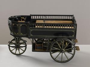 Maquette de la voiture à gaz de Lenoir